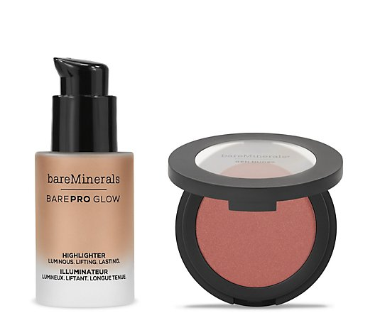 Bareminerals Blush and Glow 2 Piece Collection