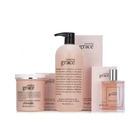 Philosophy 3 Piece Supersize Illuminate with Grace & Love Collection