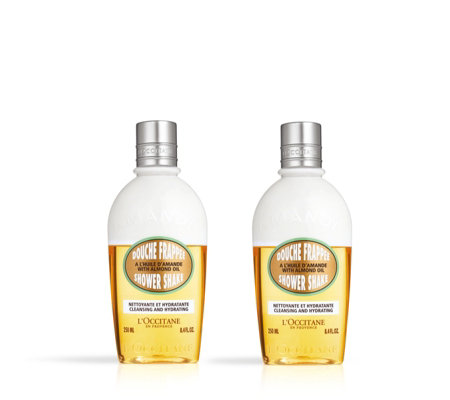 L'Occitane Almond Shower Shake Duo