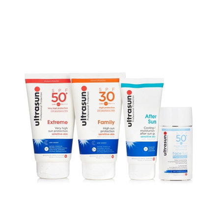 Ultrasun 4 Piece Total Sun Protection Collection