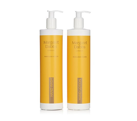 Margaret Dabbs London Supersize Hand Lotion & Hand Wash Set