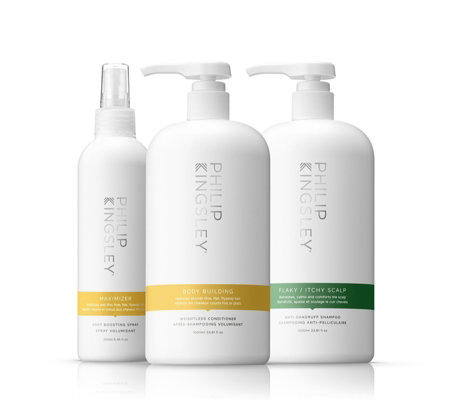 Philip Kingsley 3 Piece Soothe & Shine Supersize Collection