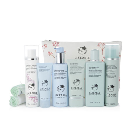 Liz Earle Heavenly Scented Face, Hand & Body 6 Piece Gift