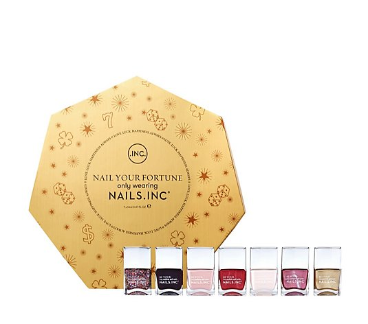 Nails Inc 7 Piece Nail Your Fortune Collection & Gift Box