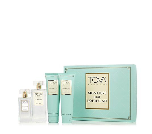 Tova Signature 4 Piece Fragrance Layering Gift Set