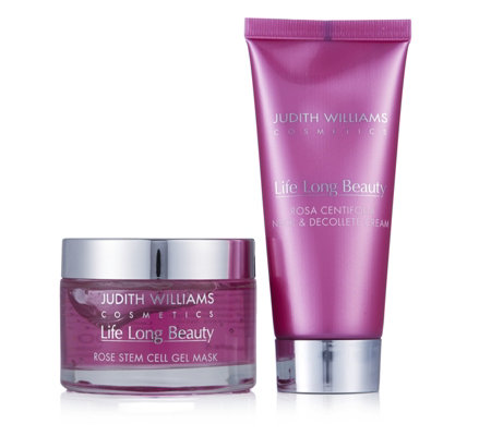 Judith Williams Life Long Beauty Rose Stem Cell Skincare Duo