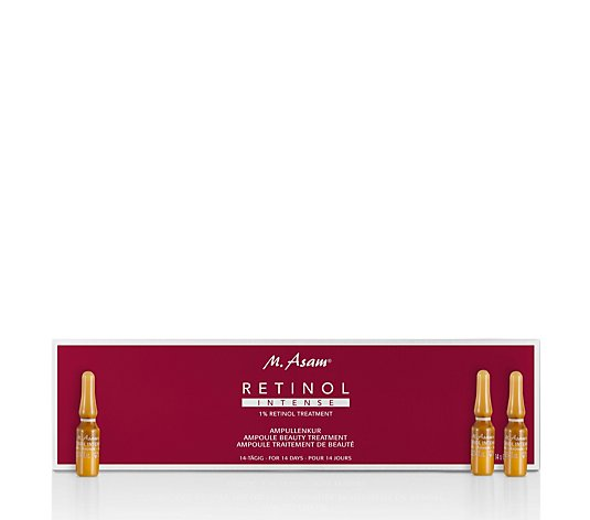 M. Asam Retinol Intense Beauty Treatment Ampoules 14 x 1ml