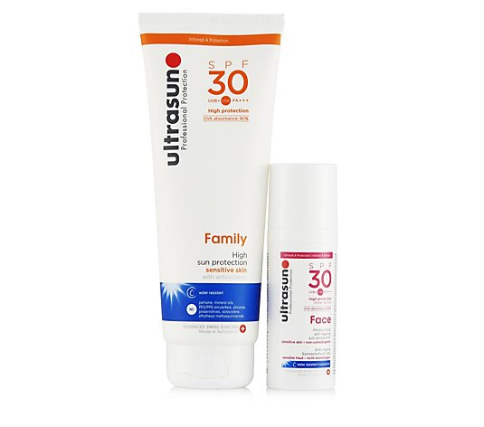 Ultrasun Sun Protection 2 Piece SPF 30 Body & Face Collection