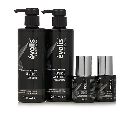 Evolis Professional Reverse 3-Step Haircare System
