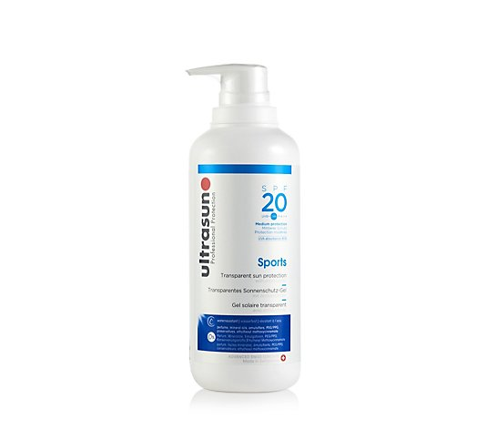 Ultrasun Sun Protection Supersize Sports Gel SPF 20 400ml