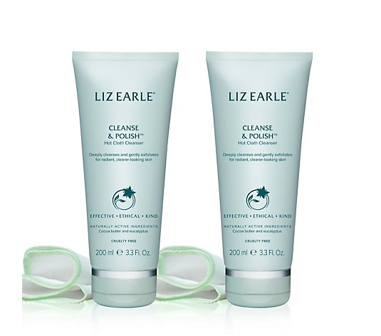 Liz Earle Cleanse & Polish 200ml Duo