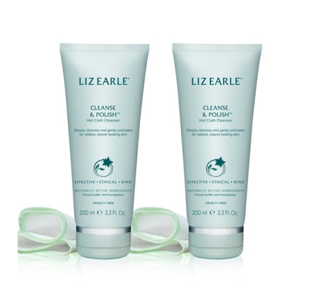 Liz Earle Cleanse and Polish 200ml Duo