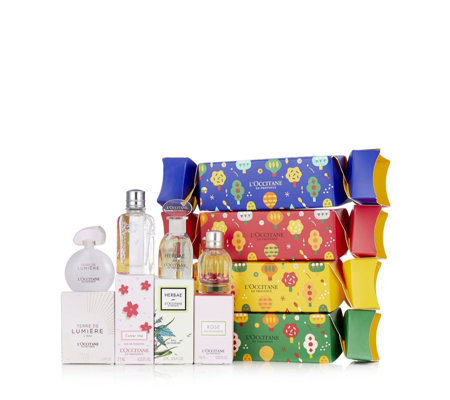 L'Occitane Set of 4 Fragrance Crackers