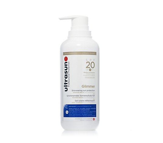 Ultrasun Sun Protection Supersize Glimmer SPF 20 400ml