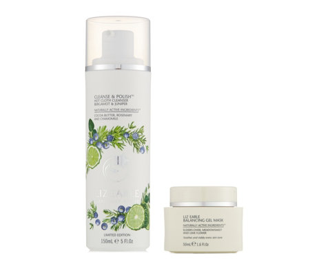 Liz Earle Bergamot & Juniper Cleanse & Polish with Balancing Gel Mask