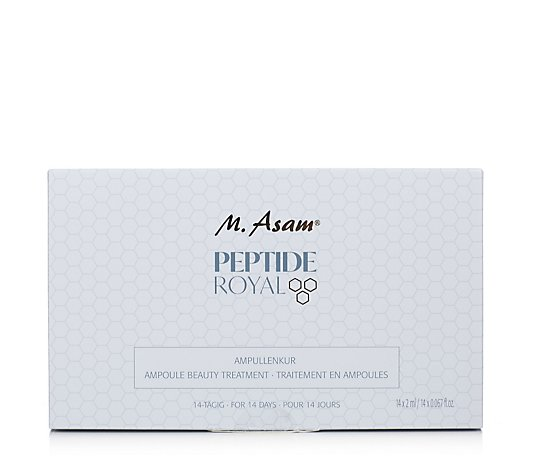 M. Asam Peptide Royal Beauty Treatment Ampoules 14 x 2ml