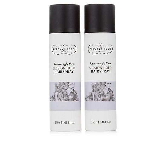 Percy & Reed Session Hold Hairspray Duo 250ml
