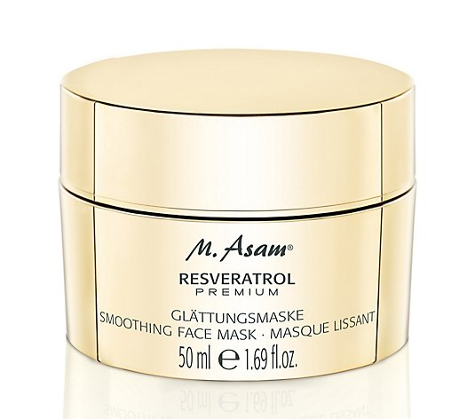 M. Asam Resveratrol Premium Smoothing Face Mask 50ml