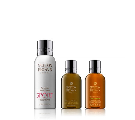 Molton Brown 3 Piece Invigorate Wash & Deodorant Collection