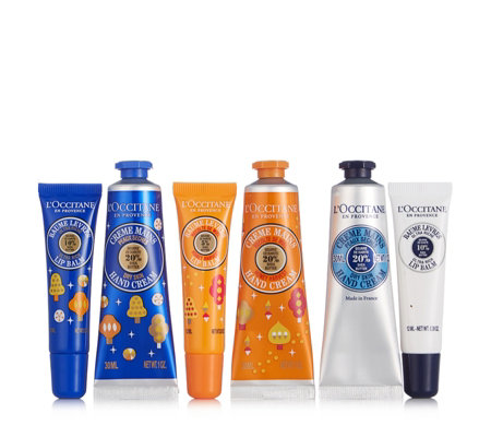L'Occitane 6 Piece Hugs and Kisses Trio Gift Set