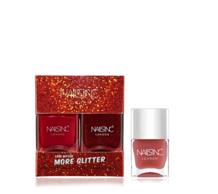 Nails Inc 3 Piece Less Bitter More Glitter Collection