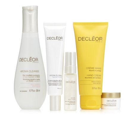 Decleor 5 Piece Hydrating Skin Saviours Collection