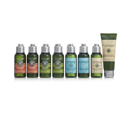 L'Occitane 8 Piece Haircare Discovery Collection