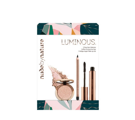 Nude by Nature Luminous 3 Piece Eye Collection