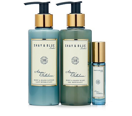 Shay & Blue 3 Piece Atropa Belladonna Collection