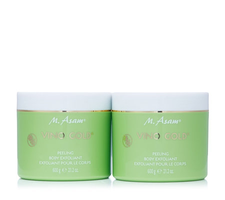 M. Asam Vino Gold Body Exfoliant 600g Duo