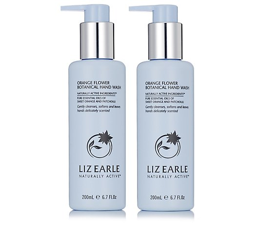 Liz Earle Orange Flower Hand Wash Duo