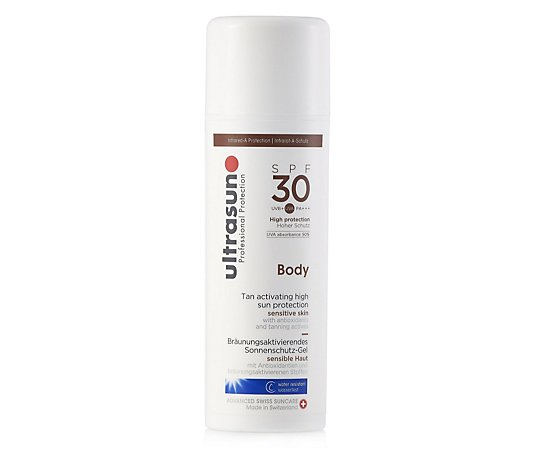 Ultrasun Sun Protection Body Tan Activator SPF 30 150ml