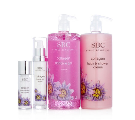 SBC 4 Piece Supersize Collagen Skincare Heroes Collection