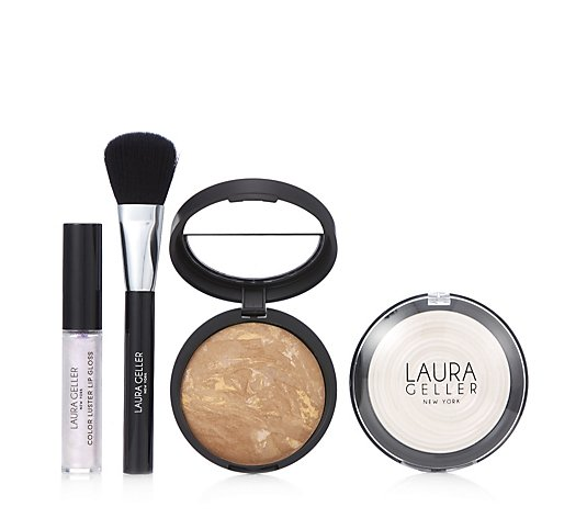 Laura Geller 4 Piece Glow Your Own Way Make-up Collection