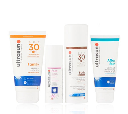 Ultrasun 4 Piece Tan & Protect Collection