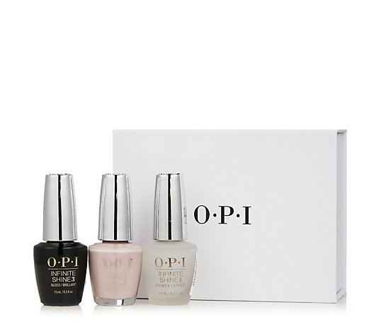 OPI 3 Piece Infinite Shine System Collection
