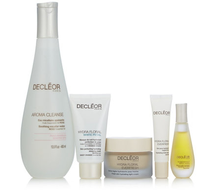 Decleor 5 Piece Brighten & Hydrate Skincare Collection