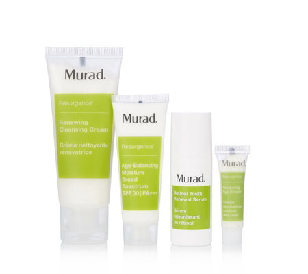 Murad 4 Piece Skin Resurgence Discovery Collection