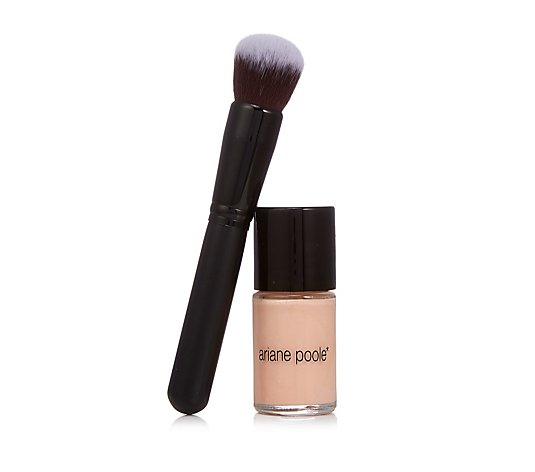 Ariane Poole Flawless Finish Foundation & Buffing Brush