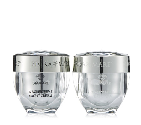 Flora Mare Diamare 2 Piece Supersize Day & Night Cream Collection