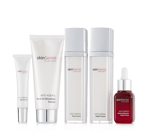 Skinsense 5 Piece Anti-Ageing Retinol Booster Collection