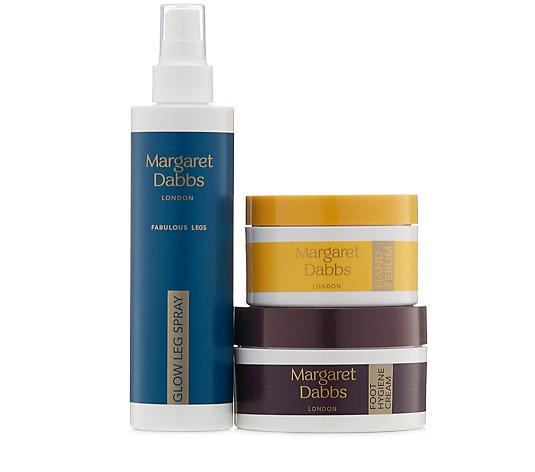 Margaret Dabbs London Repair Protect & Glow 3 Piece Collection