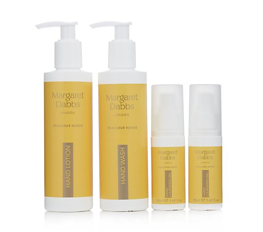 Margaret Dabbs London 4 Piece Hand Cleanse & Care Collection
