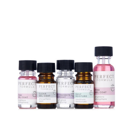 Perfect Formula 5 Piece Nail Essentials Collection