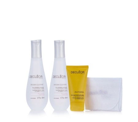 Decleor 3 Piece Cleansing & Exfoliating Collection