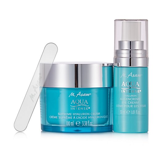 M. Asam 2 Piece Aqua Intense Hyaluron Skincare Collection