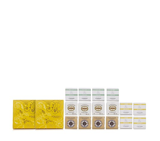 L'Occitane 16 Piece Nourish & Indulge Soap Collection