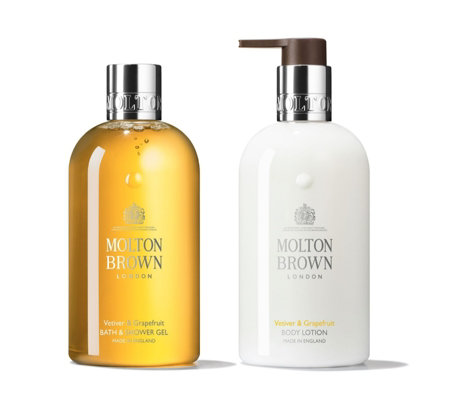 Molton Brown Vetiver & Grapefruit Debonair Body Duo 300ml