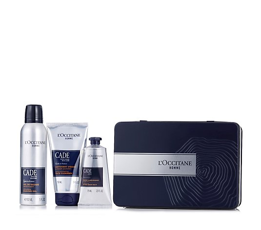 L'Occitane Men's Cade Grooming Trio