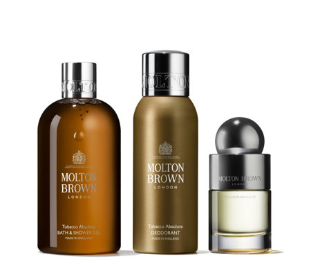 Molton Brown Tobacco Absolute Men's 3 Piece Body Collection